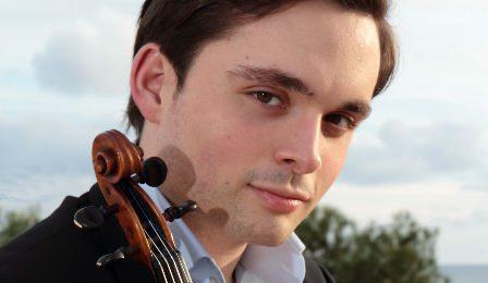 Francisco Garcia Fullana Brahms Violin competition cover